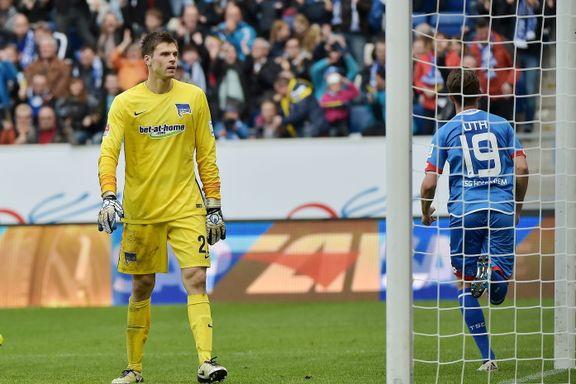 Hertha tapte mot Hoffenheim