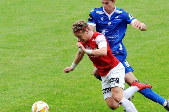 Bortemarerittet fortsetter for Bryne – tapte for Fredrikstad