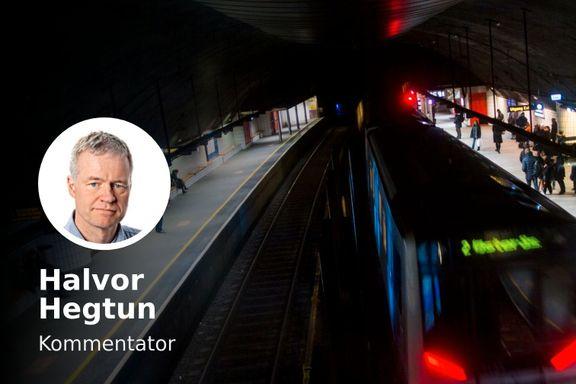 Turene med T-banen er et dypt og inderlig savn