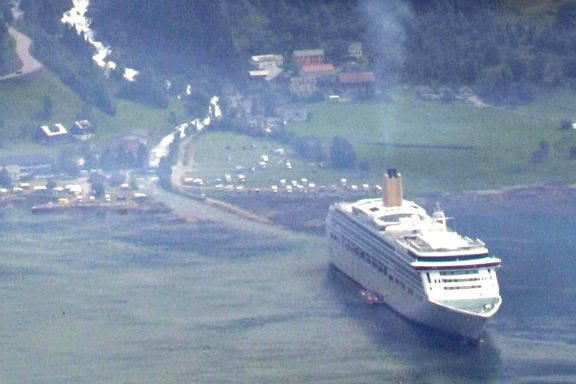 Bellona vil ha norsk forbud mot «skitne» cruiseskip