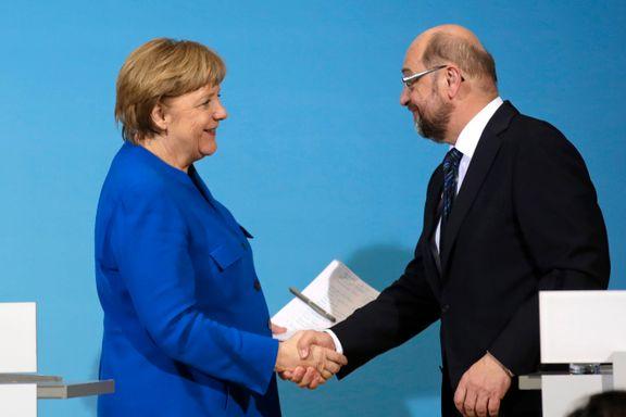 Nei til Merkel gir politisk kaos. Nå må sosialdemokratene i Tyskland velge: Ta ansvar for landet eller redde partiet?