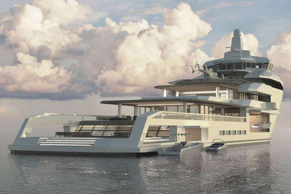 Total forvandling: Dette er egentlig en supplybåt i Nordsjøen