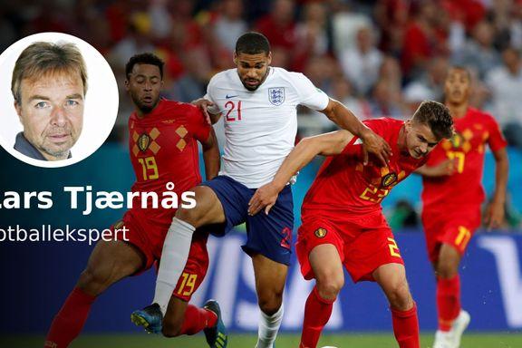 England- Belgia kunne blitt en parodi. Det ble den delvis.