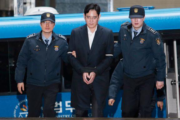 Samsung-topp i retten for korrupsjon torsdag