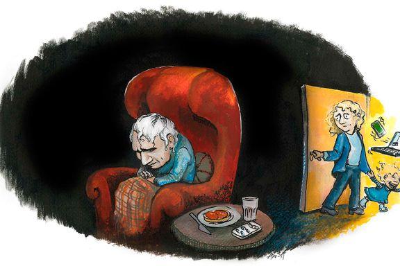 Hvordan passer vi på våre gamle uten å kjøre oss selv helt i grøften? | Anonym