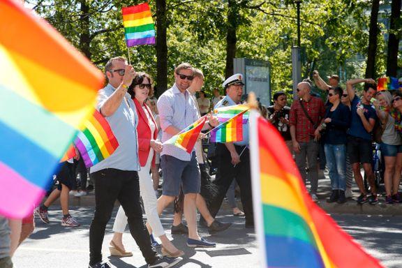 ILGA: Norge nest best i Europa på LHBT-rettigheter