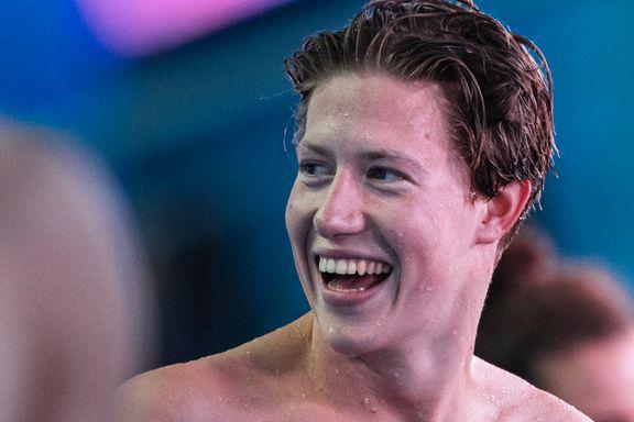 Norges svømmestjerne fosset inn til EM-sølv etter rekordløp: – Utrolig deilig