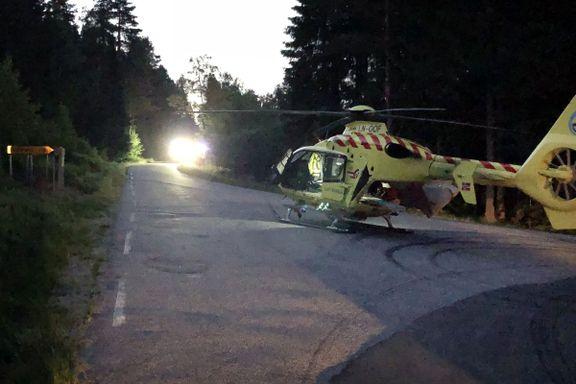 Kritisk skadet etter stupeulykke