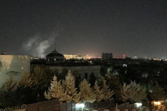 Rakett rammet USAs ambassade i Kabul