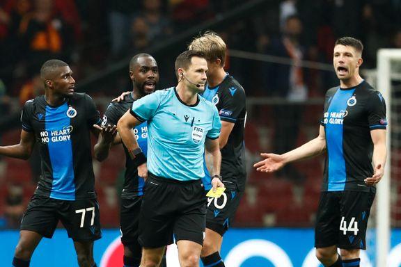 Feiret overtidsmål i Champions League - ble belønnet med to røde kort