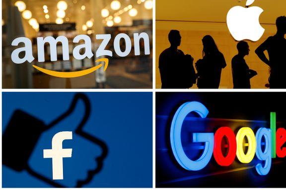 Giganter beskyldes for maktmisbruk. Siden nyttår har Oljefondet tjent 170 milliarder kroner på disse selskapene.