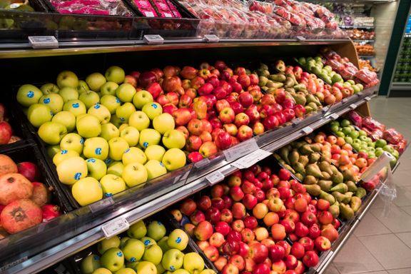 Vi tror vi spiser sunt. Men på hjemmekontor frister det ikke like mye med epler og tomater.
