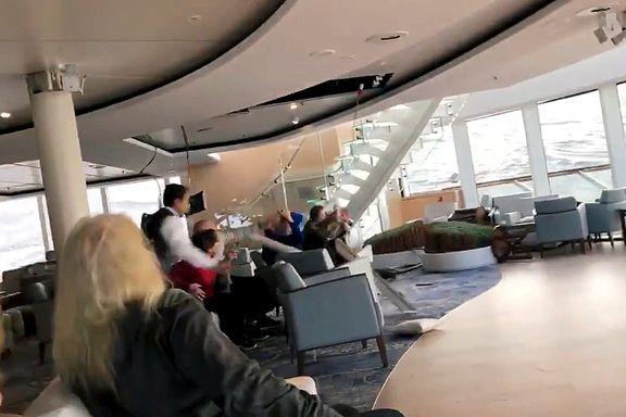 Slik var det dramatiske døgnet - sett fra passasjerene på Viking Sky