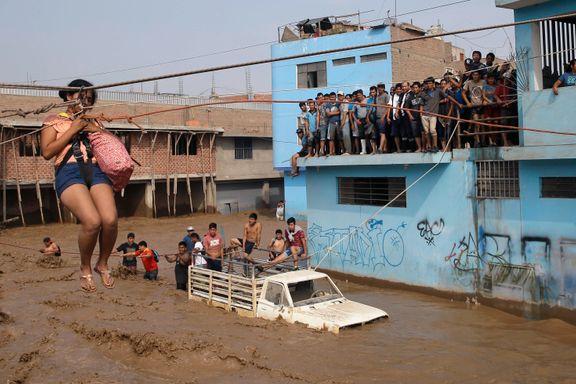 Minst 90 døde etter flom i Peru