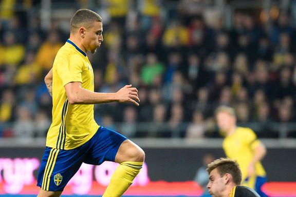 Legendens sønn med sitt første landslagsmål for Sverige: – En ære