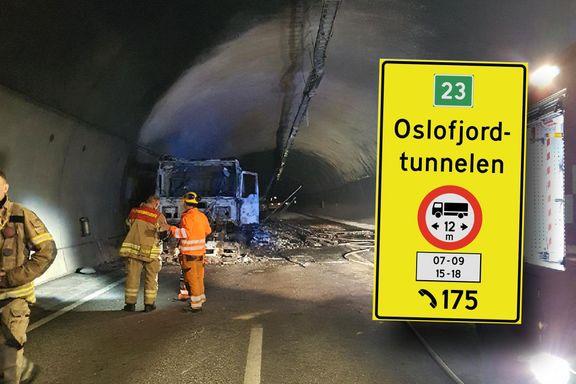 Oslofjordtunnelen åpner mandag, men stenges midlertidig for kjøretøy over 12 meter