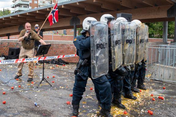 Slik brukte politiet drone under Mortensrud-demonstrasjonen. Nå varsler de økt bruk.