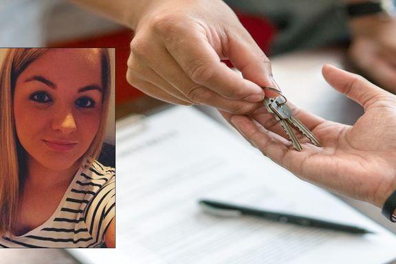 Halvparten av unge boligkjøpere får hjelp fra foreldre: Miriam er én av dem.