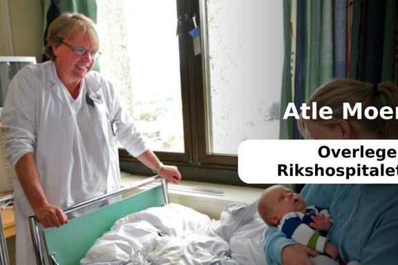 Uetiske forhold på Rikshospitalets nyfødtavdeling