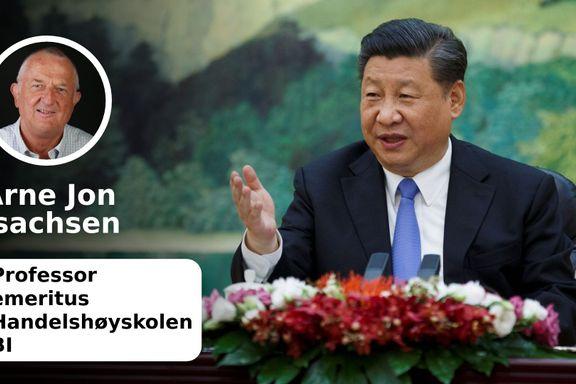 Kina truer USAs hegemoni