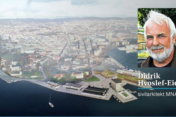 Visjonsløst rundt Oslos viktigste halvøy   Didrik Hvoslef-Eide