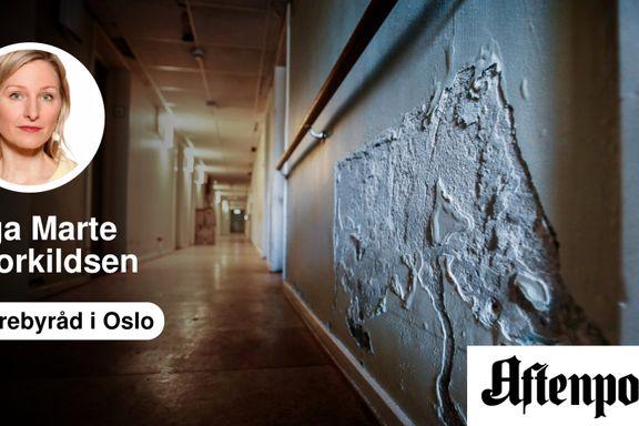 Kommuner som Oslo blir nå straffet for at man har hatt høy sykehjemskapasitet | Inga Marte Thorkildsen