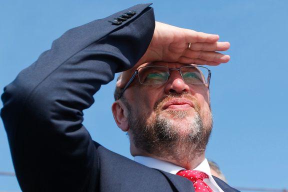 Martin Schulz ser en fremtid som kansler. Men velgerne ser ikke ut til å være enige.