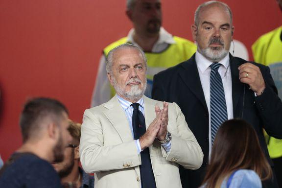 Napoli-eier: - Agenter er fotballens kreftsvulster
