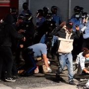 Nasjonalgarden mobilisert - opptøyer etter politiskyting