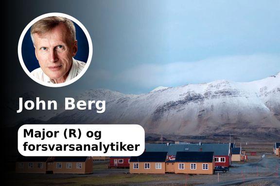 Det er Norges ansvar å forsvare Svalbard