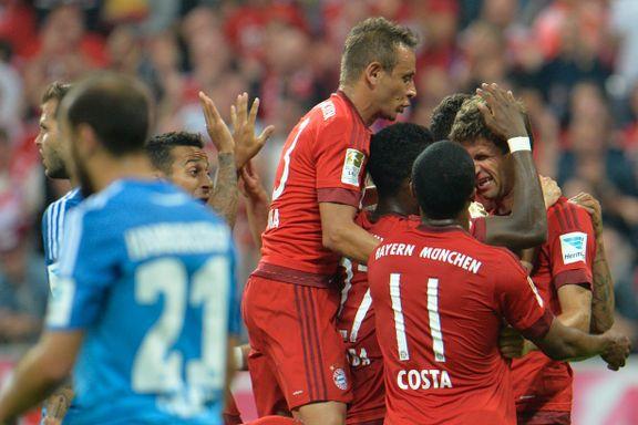 Bayern knuste Hamburg i ligaåpningen