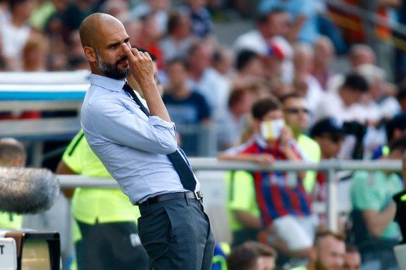 Uro rundt Guardiola kan velte Bayerns titteldrøm