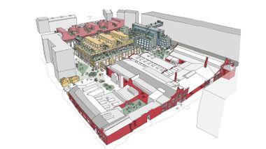 Vil ha boliger, kino, mathall og kafeer i gammel verkstedhall