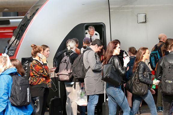 Millionvekst i passasjerer skaper behov for dobbelt så mange tog: – Ingen flere tog å oppdrive