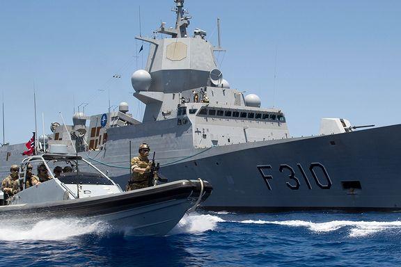 Problemer på norske krigsskip: Fikk beskjed om å dykke jevnlig for å sjekke at propellene satt godt nok på