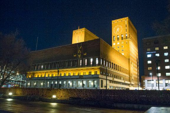 Oslo rådhus blir klesbyttemarked
