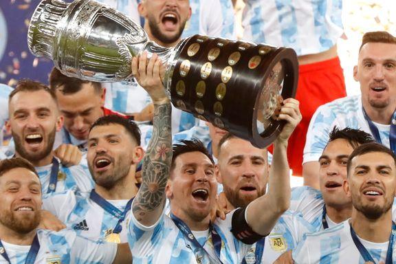 Endelig lyktes Messi for Argentina