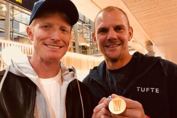 Takker Olaf Tufte etter VM-suksessen: – Til og med undertøyet kom fra ham