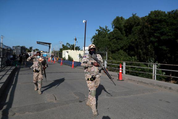 To mistenkte pågrepet og fire skutt etter attentatet mot Haitis president
