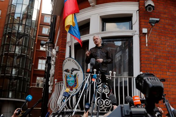 Julian Assange har fått statsborgerskap i Ecuador