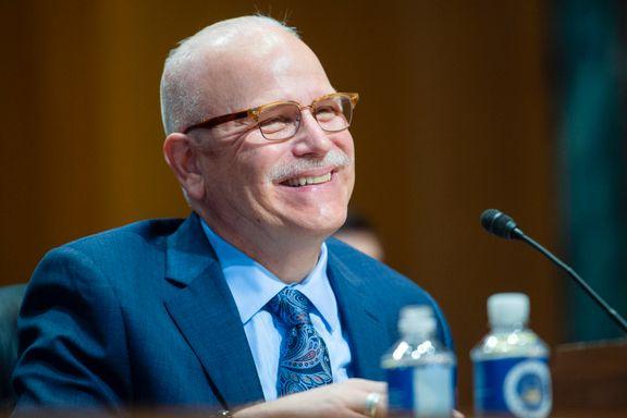 Joe Biden vil ha norskamerikaner i toppjobb. Nå er den omstridte politisjefen grillet i Senatet.