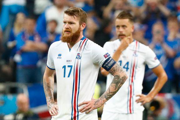 Rekordmange nordmenn så Frankrike slå tapre Island ut av EM