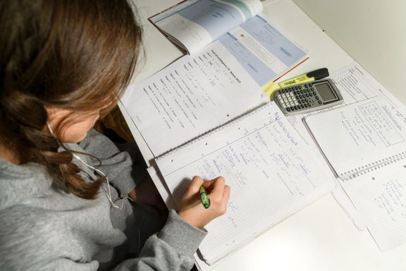 Jente (13): Det kan bli krangling hjemme på grunn av lekser. Skolen burde bli leksefri!