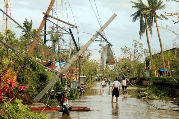 Filippinene er herjet av kraftig tyfon