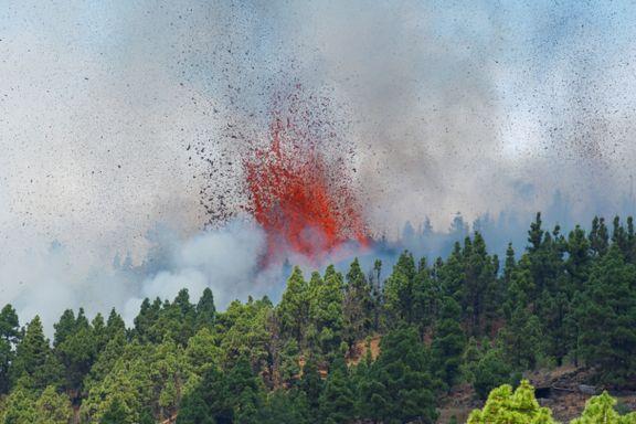 Røyken og lavaen etterlot ingen tvil: Det smarteste var å rømme
