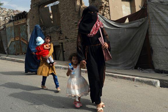 Slik kan livet bli for kvinner i Afghanistan når Taliban tolker sharia