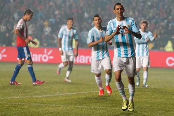 Argentinas stjernegalleri smadret Paraguay i semifinalen