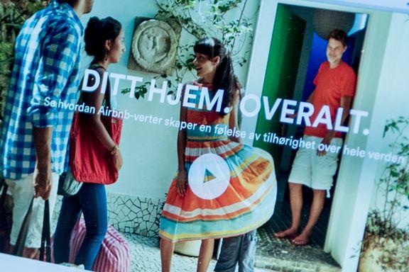 Regjeringen vil skjerpe Airbnb-regler