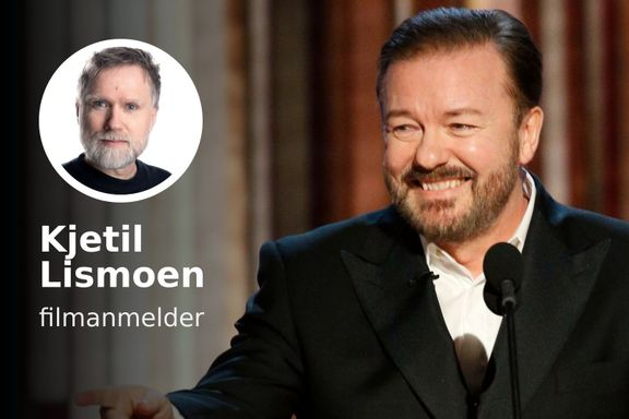 «Hvis du gråter på scenen under Golden Globes, er du sannsynligvis full»