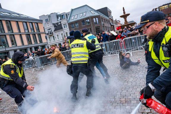 Politidirektøren ga ordre om å stanse koranbrenning dagen før koranbrenningen i Kristiansand